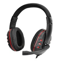 SHOOT Universal 3.5mm Wired Gaming Stereo Headset Headphone MIC for PS4 XBOX Computer