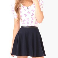 Bow Print Top   FOREVER21 - 2081259059