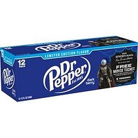 Dr Pepper Dark Berry 12 Pack Cans