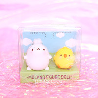 Molang Figure Molang And Piu Piu