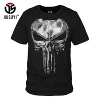New The American TV Punisher Print Tee Shirts T-Shirts Short Sleeve Tops Clothing Casual for Men Women M to 3XL