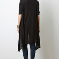 Boxy Thermal Knit Top