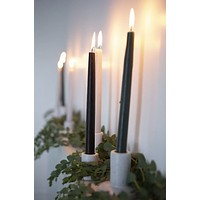 Paddywax Taper Candles | Black