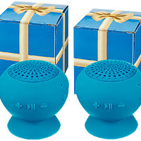 Set of 2 Jumbo PopRock Bluetooth Speakers in Gift Boxes — QVC.com
