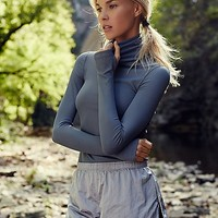 FP Movement Womens Get Movin  Smooth Turtleneck