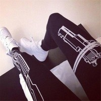 women Sports Trousers Athletic Gym Fitness Yoga Sexy Leggings Pants