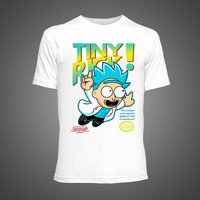2017 Tiny Rick and Morty Anime T-shirts