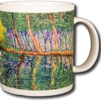 Claude Monet - The Pond at Montgeron - 14oz Coffee Mug