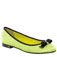 Christian Dior Quilted 'My Dior' Ballerina Flats