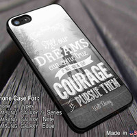 All Our Dreams Waltz Disney Quote iPhone 6s 6 6s+ 5s 5c 4s Cases Samsung Galaxy s5 s6 Edge+ NOTE 5 4 3 #cartoon #disney #animated #disneycastle dl3