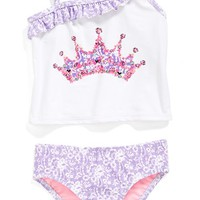 Girl's Hula Star 'Sugar Plum' Two-Piece Swimsuit,
