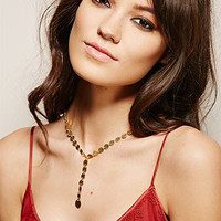 Soko Sequin Drop Necklace