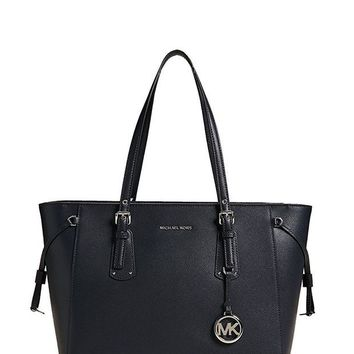 ONETOW MICHAEL Michael Kors Women's Voyager Tote, Admiral, One Size