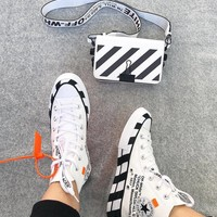 Converse 70s Hi x Offwhite Canvas High-top Sneakers
