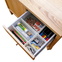 Hampton Direct Set Of 2 Kitchen Cabinet Drawer Cutlery Storage Organizer