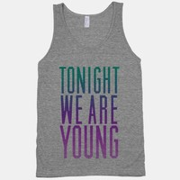 Tonight We Are Young (Washed Out Tank)   HUMAN