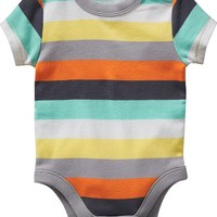Old Navy Patterned Bodysuits For Baby