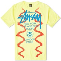 Stussy World Tour Noise Tee