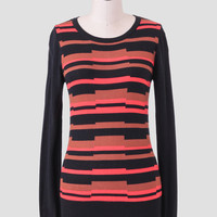Front Row Striped Sweater