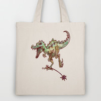 dino  Tote Bag by Marianna Tankelevich