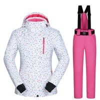 Snowboarding Suits Women Clothes Ski Jacket And Pants Snow Sets BDD Outdoor Windproof Waterproof Clothing Winter Ski Suit Brands