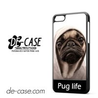 New Design Funny Hilarious Pug Life Parody Fans For Iphone 5C Case Phone Case Gift Present