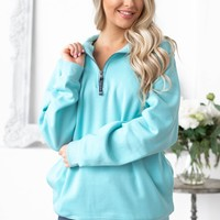 Charles River Crosswind Quarter Zip Sweatshirt | Colors