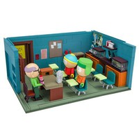 South Park Mr. Garrison Kyle and Cartman with the Classroom Construction Set