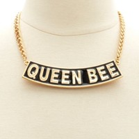 Queen Bee Collar Necklace