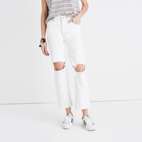 Madewell x Where I Was From™ Slim Straight Crop Jeans : | Madewell