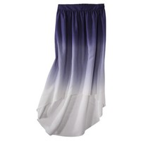 Mossimo® Women's Ombre High-Low Maxi Skirt - Assorted Colors
