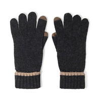 Marled Knit Texting Gloves