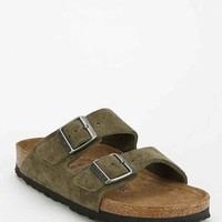 Birkenstock Arizona Soft Footbed Suede Sandal- Khaki