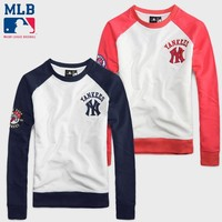 Hot Deal On Sale Sports Pullover Hoodies Couple Baseball [10233705863]