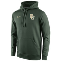 Baylor Bears Nike 2014 Sideline KO Chain Fleece Therma-FIT Hoodie – Green