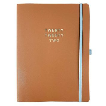 2022 Camel Soft Cover 18-Month Planner
