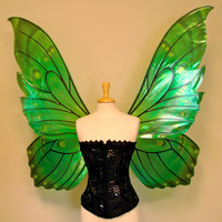Giant Butterfly Painted Fairy Wings in your choice of colors