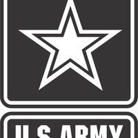 US Army Sticker Decal 20 Colors To Choose From.