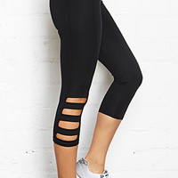 Cutout Active Capri Leggings
