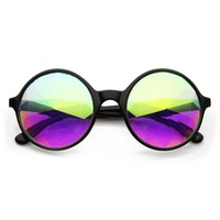 Emerald Light Effects Geometric Prism Kaleidescope Glasses