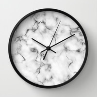 Marble Wall Clock by Will Wild