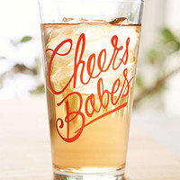 Cheers Pint Glass - Urban Outfitters