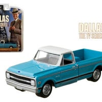 1970 Chevrolet C-10 Pickup Truck Dallas 1978-91 TV Series 1-64 Diecast Car Model by Greenlight