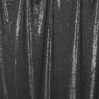Black Teardrop Sequins Photography Backdrop - AB692