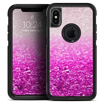 Hot Pink & Silver Glimmer Fade - Skin Kit for the iPhone OtterBox Cases