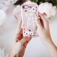 Floral iPhone 7 & 7 Plus Case (Wanderlust Pattern) by Casetify