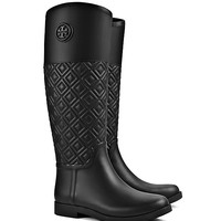 Tory Burch Marion Quilted Rainboot
