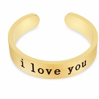"""""""I LOVE YOU"""" Ring"""