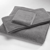 Steel MicroCotton Luxury Towels