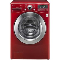 High-Efficiency Steam Front-Loading Washer - Wild Cherry Red